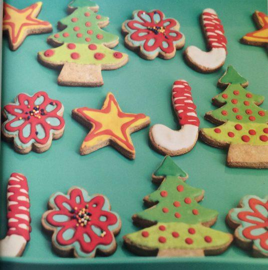 Galletas de Navidad, galletas de jengibre
