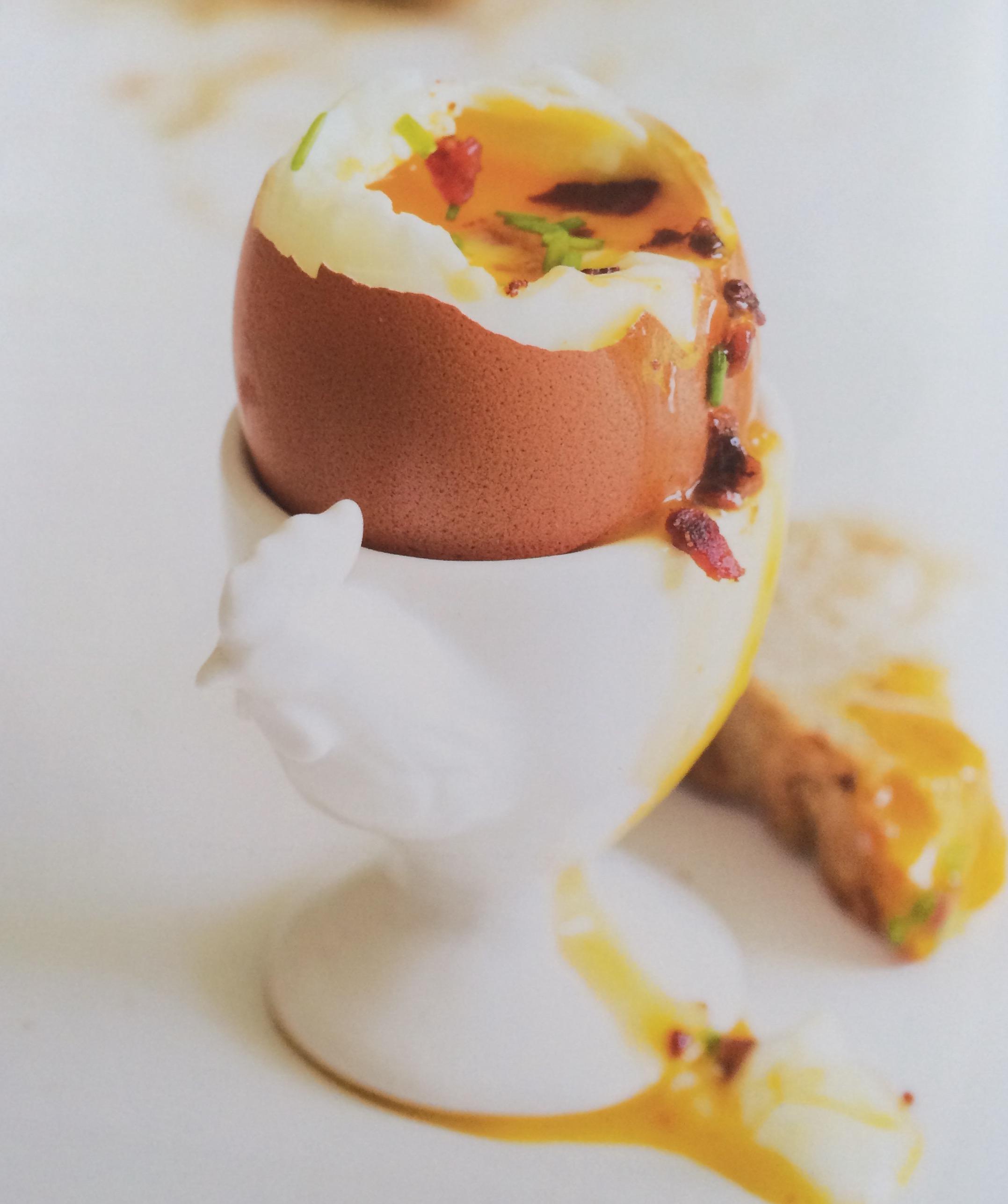 Huevos a la copa