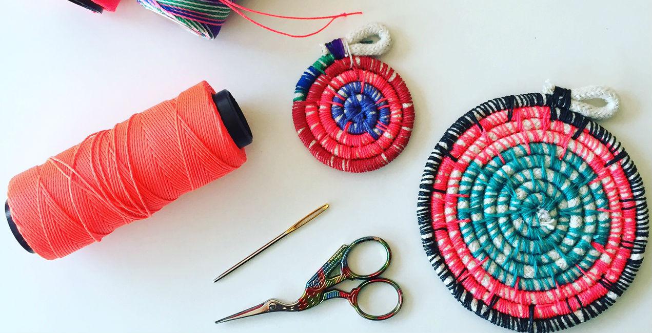 Una técnica de cestería: cómo embarrilar un cordón