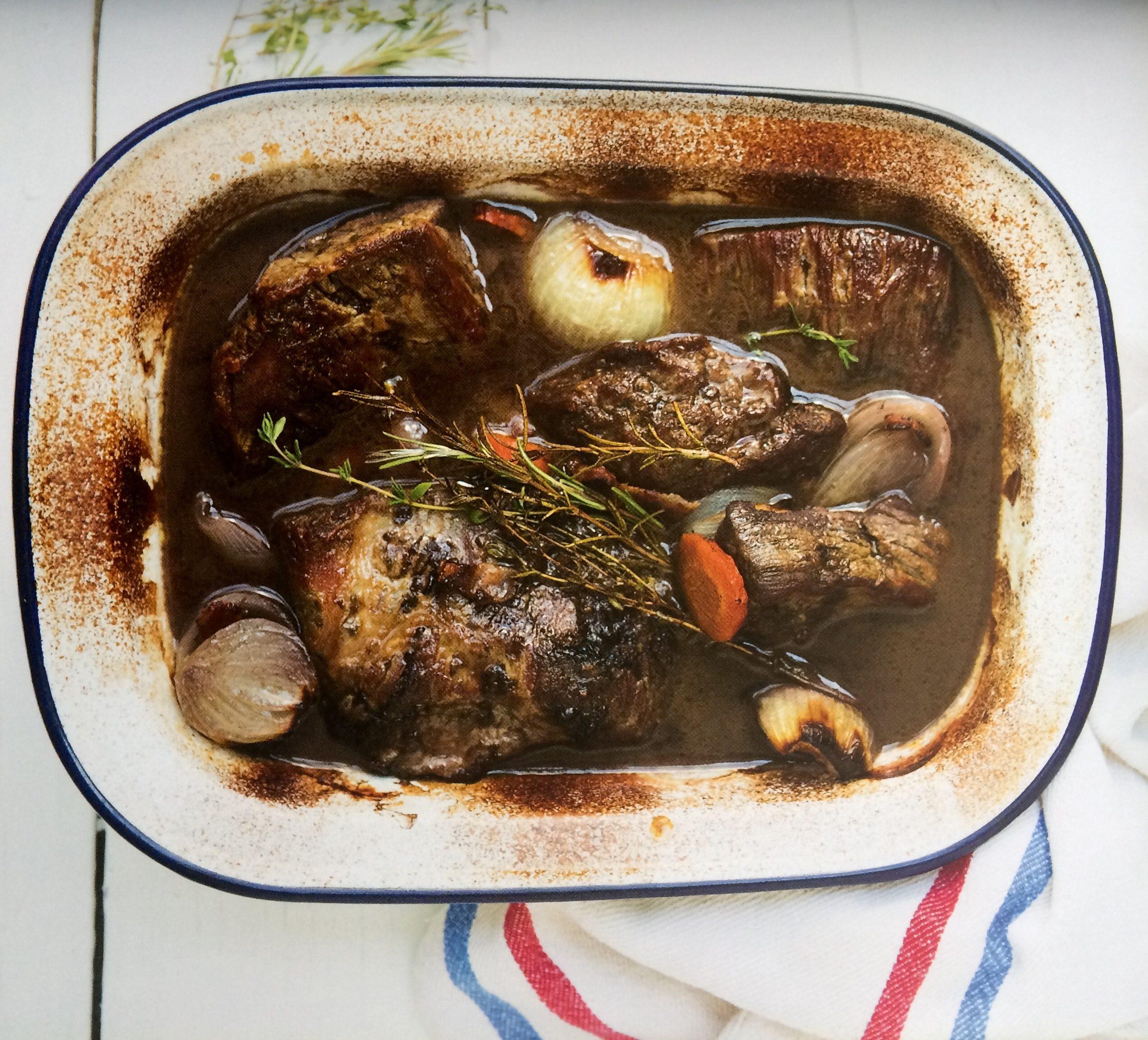 Carne al jugo (o plateada al horno)