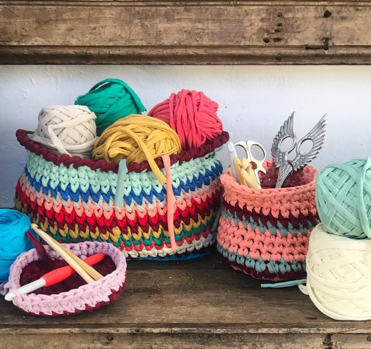 Tutorial: tejer con trapillo