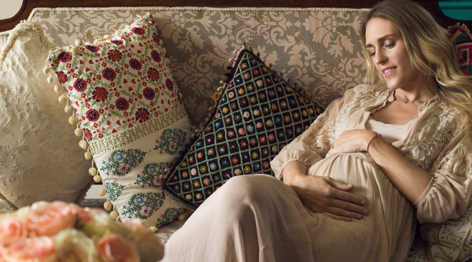«Ser mamá es una inyección de creatividad», en Revista Vanidades