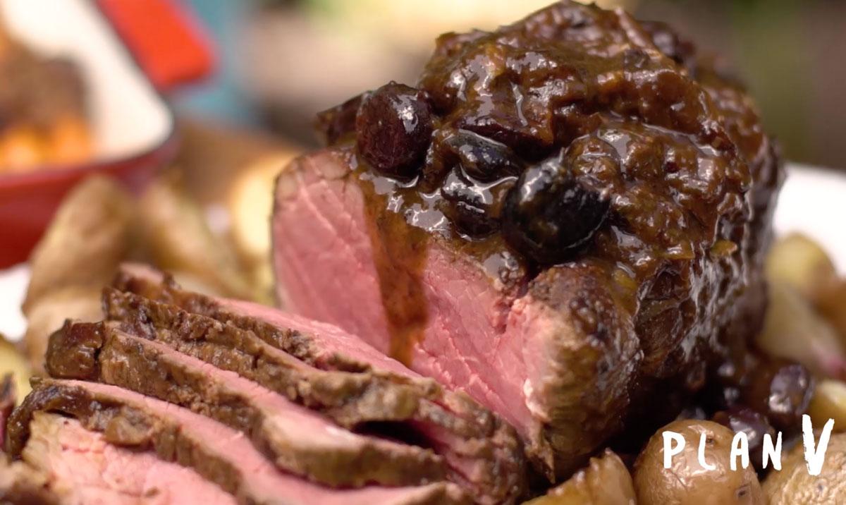 Roast Beef Navideño Virginia Demaría